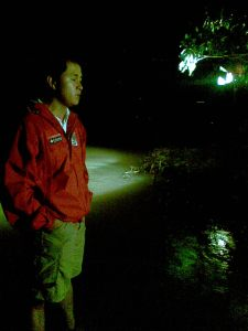 Adrian Ayalin in Pangasinan, Pepeng
