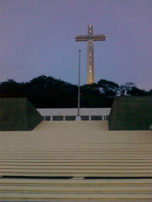 Cross of the Dambana ng Kagitingan at Mount Samat, Bataan