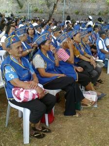 Widows of world war II soldiers and veterans during Araw ng Kagitingan 2010 in Bataan. (Shot by Anjo Bagaoisan)