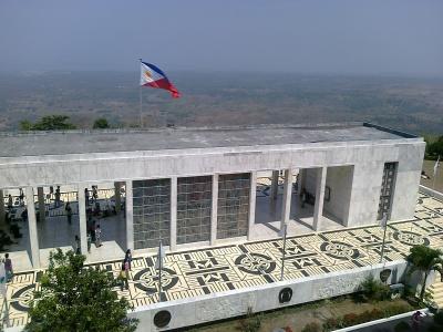 Monument at the Dambana ng Kagitingan in Mount Samat
