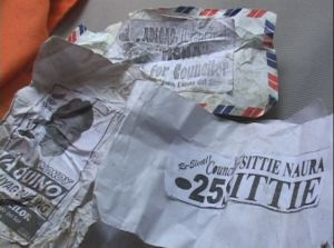 Envelopes given during special elections in Masiu, Lanao del Sur