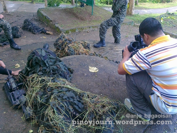PNoy at Fort Magsaysay - Popoy Carpio snipers Sept 10 ww