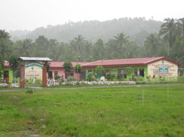 New Guinsaugon elementary school, St. Bernard Southern Leyte