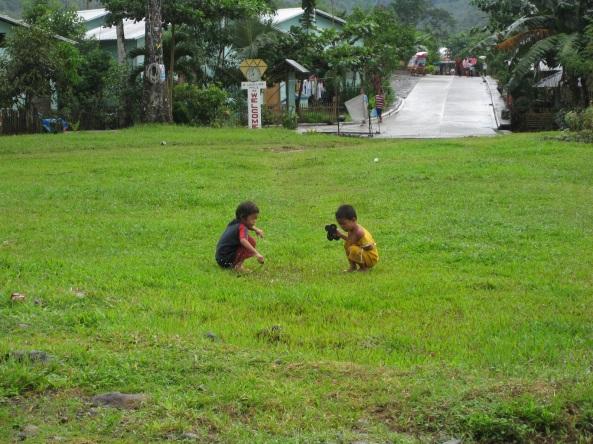 Kids at New Guinsaugon, St. Bernard, Southern Leyte