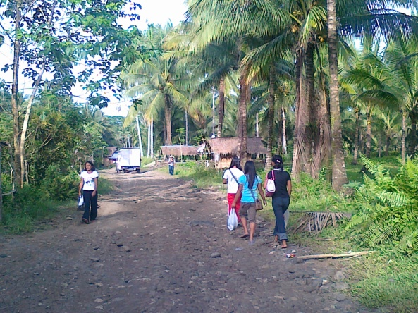 Uphill community in Prosperidad, Agusan del Sur Shot by Anjo Bagaoisan