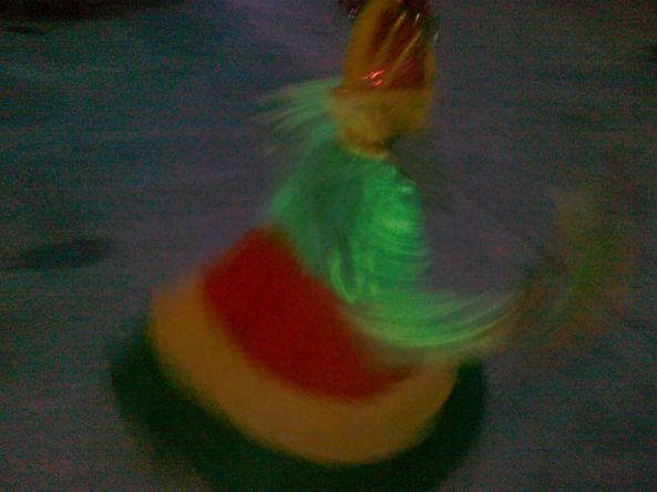 Boy dancing in native costume for a Muslim wedding in Cotabato. Shot by Anjo Bagaoisan