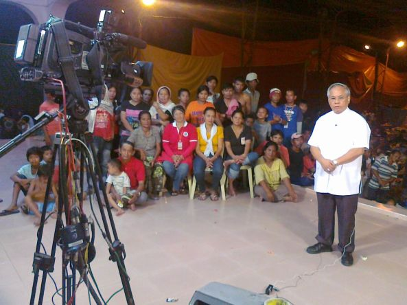 Archbishop Orlando Quevedo on ANC in Cotabato Shot by Anjo Bagaoisan