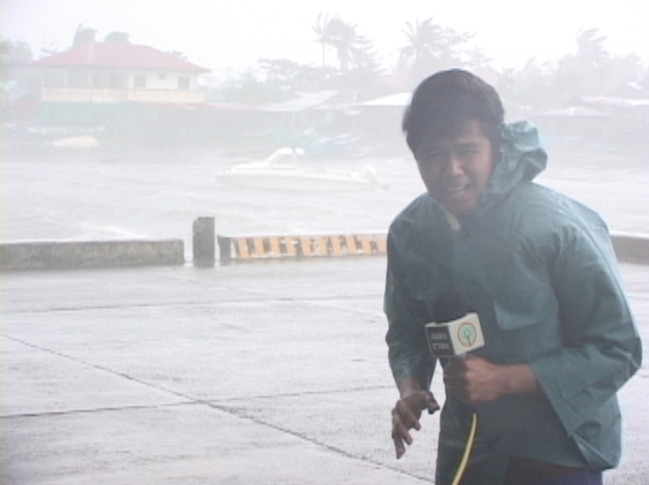 Julius Camba reporting from Sta. Ana Cagayan