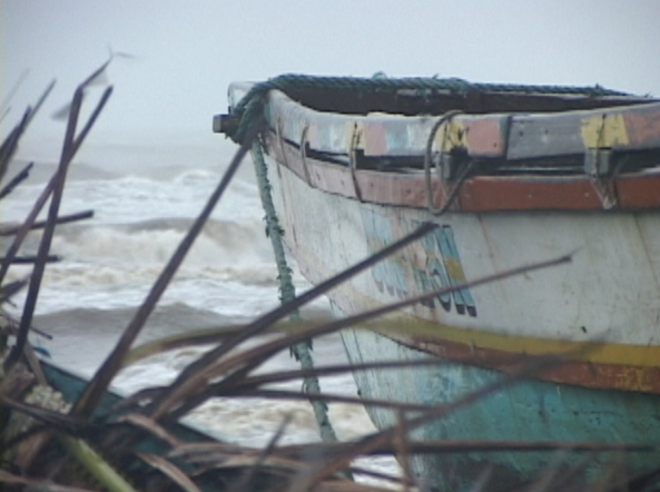 (Shot by Jeff Agustin) Caroan in Gonzaga, Cagayan during typhoon Mina