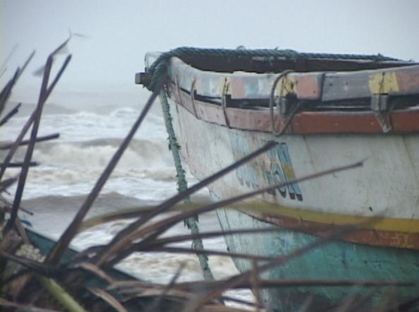 (Shot by Jeff Agustin) Caroan in Gonzaga, Cagayan during typhoon Mina