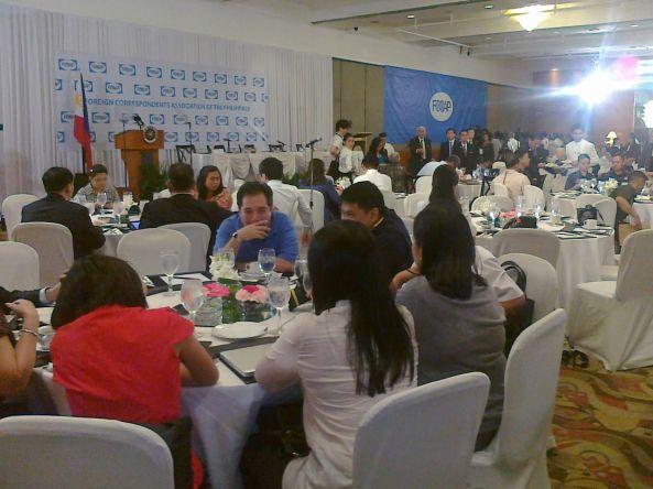 FOCAP forum at Mandarin Oriental Manila, October 12, 2011. Shot by Anjo Bagaoisan