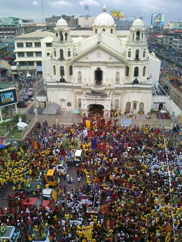 Quiapo church 8 January 2012 Shot by Anjo Bagaoisan