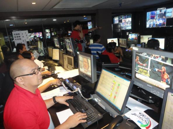 Studio 7 during TVPatrol25 Shot by Maricar Asprec