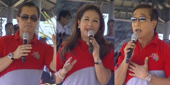 TVPatrol25 anchors speak Pampanga Shots by Renato Balanza
