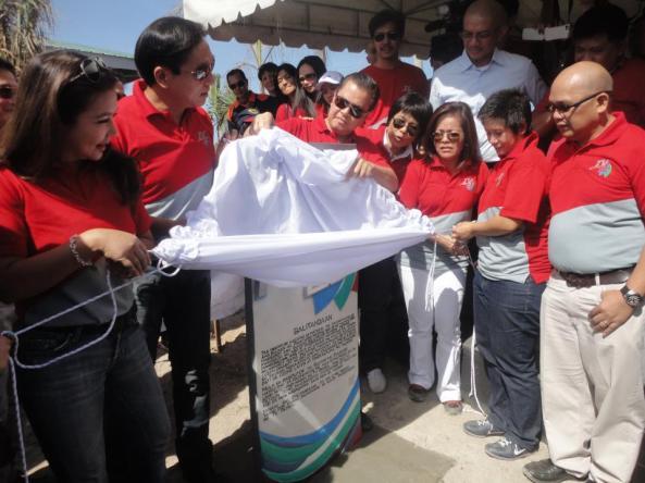 TVPatrol25 marker unveiling in Pampanga Noli De Castro Korina Sanchez Ted Failon (Shot co Maricar Asprec)