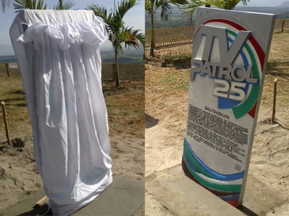 TVPatrol25 marker in Pampanga, before and after (Shots by Anjo Bagaoisan)