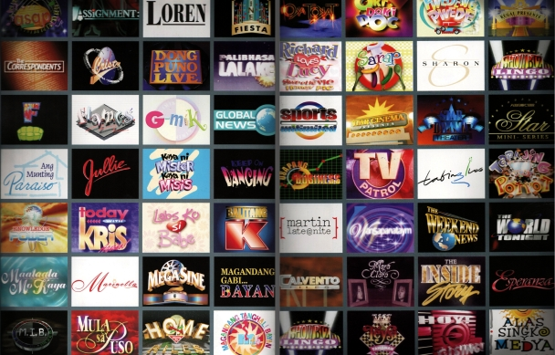 Logos of ABS-CBN Television shows in the late 1990s as published on the book Pinoy Television: The Story of ABS-CBN