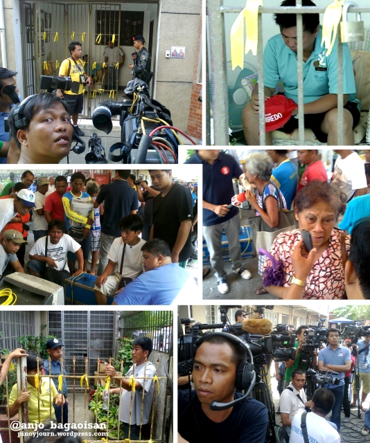 Scenes at Robredo house in Naga after Jesse Robredo's body was recovered (Shots by Anjo Bagaoisan & Allan Zulueta, ABS-CBN News)