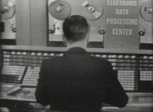 The RCA 501 computer, first used in Election 1960 (Courtesy NBC)