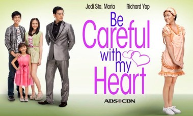 Be Careful With My Heart title card