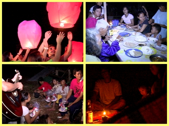 Christmas eve 2012 in Cateel, Davao Oriental (Courtesy Percy & Bernie Mallari, ABS-CBN News)