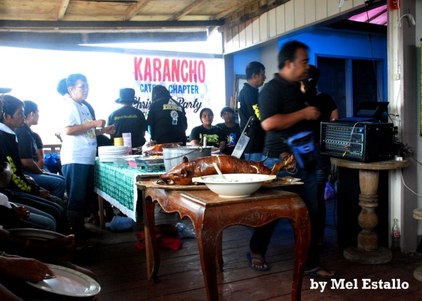 Belated 2012 Christmas Party by Karancho motorbikers group Cateel chapter (Shot by Mel Estallo)