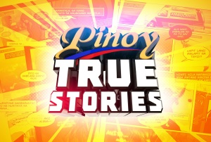 ABS-CBN Pinoy True Stories logo / title card
