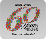 ABS-CBN 60 years of Philippine Television logo