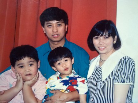 First family pic in Riyadh.