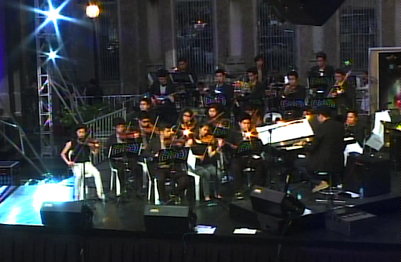 USTV Orchestra at the 11th USTV Awards 2015 (Grab courtesy of the USTV Awards)