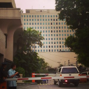 The ABS-CBN Headquarters in Quezon City. (Shot by Anjo Bagaoisan)