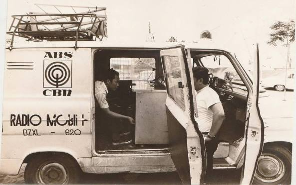 An early ABS-CBN Radyo Patrol mobile (Owner unknown)
