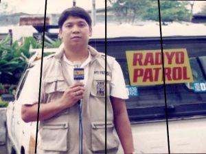 DZMM Radyo Patrol 26 Dindo Amparo. Courtesy ABS-CBN.