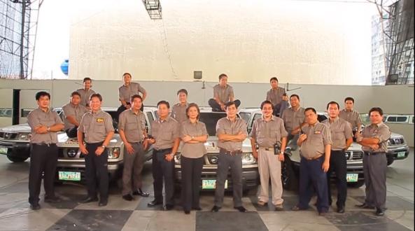 DZMM Radyo Patrol reporters in 2010. Courtesy ABS-CBN CCM.