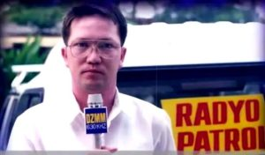 DZMM Radyo Patrol 2 Claude Vitug. Courtesy ABS-CBN.
