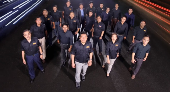 DZMM Radyo Patrol reporters in 2012. Courtesy ABS-CBN.