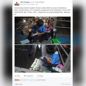 Viral Facebook post of Lito Ocampo of Marlon Mendoza